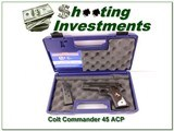 Colt Commander 1911 45 ACP NIC Extra nice grips