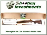 Remington 700 CDL Stainless Fluted 7mm ANIB