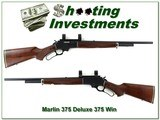 Marlin 375 Deluxe JM marked made in 1980 in 375 Winchester