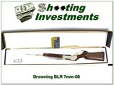 Browning BLR Lightweight Stainless 7mm-08 NIB!