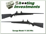 Savage Model 11 243 Win near new!
