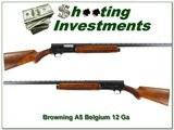 Browning A5 12 Ga 63 Belgium Vent Rib