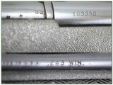 Remington 660 243 Win with vintage Leupold - 4 of 4