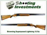 Browning Superposed Lightning 58 Belgium 12 Ga 30in F and IM - 1 of 4