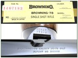 Browning Model 78 45-70 unfired in box - 4 of 4