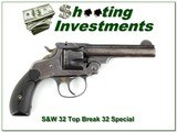Smith & Wesson Top Break 3.5in 32 Special Double Action - 1 of 4