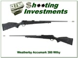 Weatherby Accumark 300 Wthy Mag Accubreak 28in Accubreak