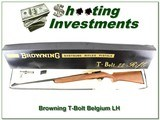 Browning T-Bolt RARE Left-Handed Belgium made ANIB!
