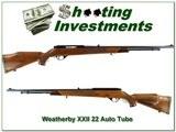 Weatherby XXII 22 LR Tube Honey Wood Exc Cond!