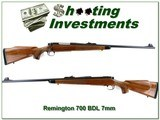 Remington 700 BDL 7mm early pressed checking Exc Cond!