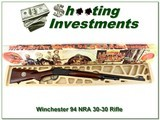 Winchester Model 94 NRA Centennial rifle in 30-30