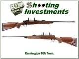 Remington BDL 700 DM Engraved 7mm Rem Mag
