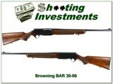 Browning BAR 30-06 Springfield