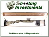 Dickinson M/Auto 212 12 Gauge Duck Blind Camo unfired in box!