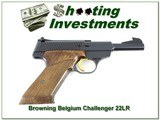 Browning Challenger 4.5in 74 Belgium like NEW - 1 of 4