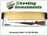 Browning A-Bolt II RARE Feather-light Micro 358 Winchester