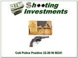 Colt Police Positive 1923 made 32-20 in original BOX!