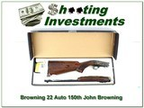 Browning 22 Auto Limited Edition 150th John Browning Anniversary