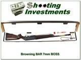 Browning BAR Safari II 7mm Rem BOSS in box!