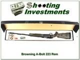 Browning A-Bolt II 223 Varmint Laminated BOSS as new!