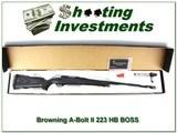 Browning A-Bolt II 223 Varmint Laminated BOSS NIB!