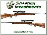 Interarms Mark X Cavalier 7mm with Redfield scope
