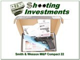 Smith & Wesson M&P Compact 22LR Supressor ready NIB