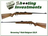 Browning Belgium T-Bolt 22LR unfired collector!