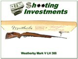 Weatherby Mark V Deluxe LH 300 ANIB
