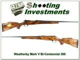Weatherby Mark V 300 1976 Bi-Centennial XXX Wood!
