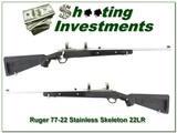 Ruger 77/22 22 LR Stainless All-Weather Skeleton stock - 1 of 4