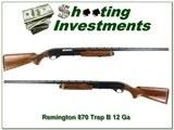 Remington 870 Wingmaster TB Trap B 12ga. 30in VR