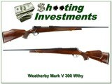 Weatherby Mark V Deluxe German 300 Wthy