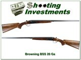Browning BSS 20 Gauge 28in Modified and Full