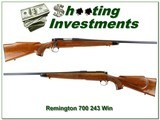 Remington 700 BDL 243 early pressed checking
