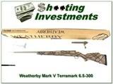 Weatherby Mark V Terramark 6.5-300 factory NIB