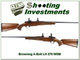 Browning A-Bolt II Left-Handed 270 WSM