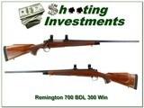 Remington 700 BDL 300 Win Mag