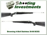 Browning A-Bolt II 30-06 with BOSS
