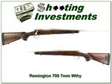 Remington 700 Stainless Walnut 7mm Wthy Magnum - 1 of 4
