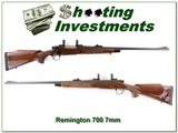 Remington BDL 700 DM Engraved 7mm Rem Mag