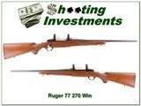 Ruger 77 270 Win Red Pad 1976 Liberty gun