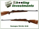 Remington 700 ADL first production exc cond 30-06