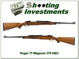 Ruger 77 Magnum RSM 375 H&H Exc Cond!
