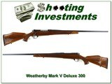 Weatherby Mark V Deluxe 300 Wthy 26in Exc Cond!