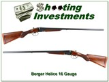 Berger Helice 16 Gauge lightweight SxS bird gun - 1 of 4