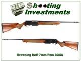 Browning BAR Safari Mark II 7mm BOSS - 1 of 4
