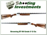 Browning BT-99 RARE Grade 5 hand engraved 32in as new