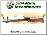 Marlin 410 Lever JM Marked as new in BOX!