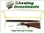 Ruger Red Label 12 Ga rare 28in Skeet in the box!
